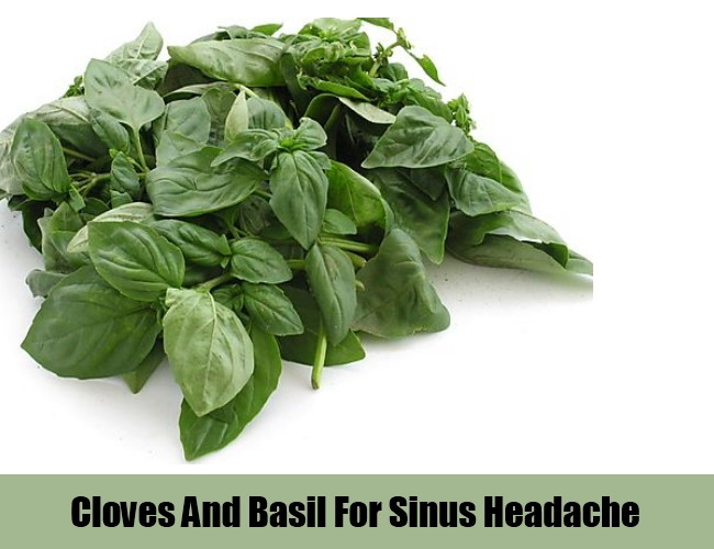 Cloves And Basil Leaves
