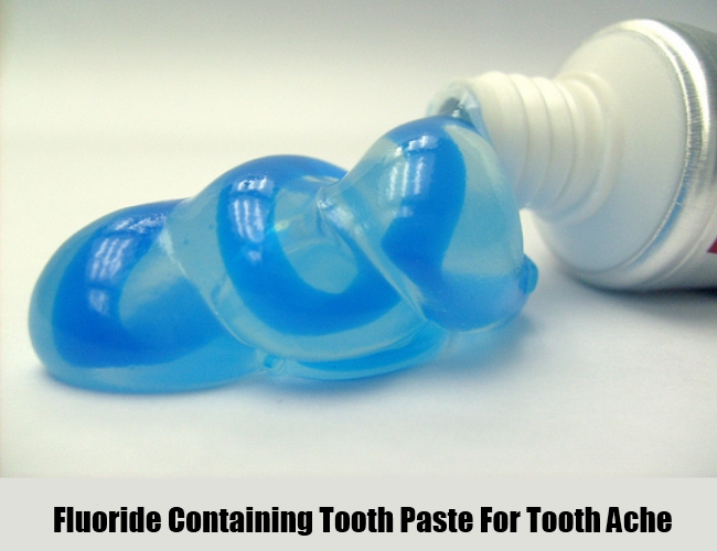 Fluoride Containing Tooth Paste