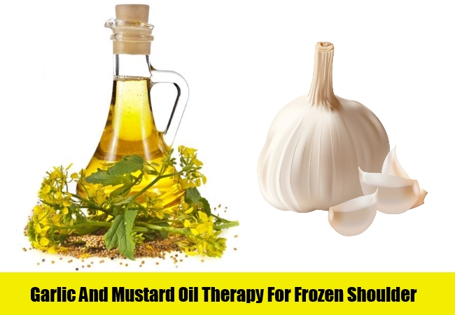 Garlic And Mustard Oil Therapy