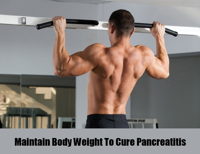 Maintain Body Weight To Cure Pancreatitis