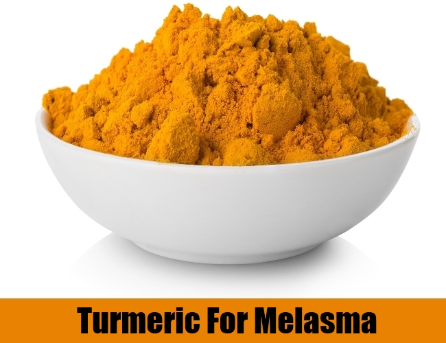 Turmeric For Melasma