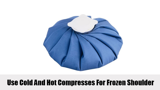 Use Cold And Hot Compresses