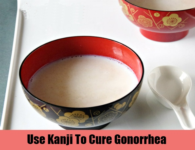 Use Kanji To Cure Gonorrhea