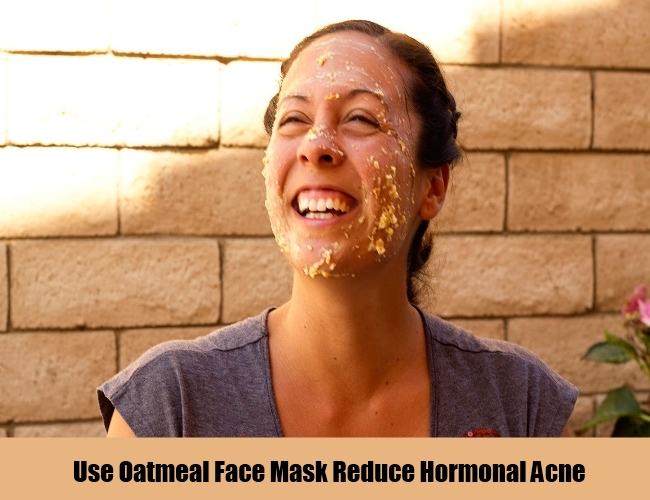 Use Oatmeal Mask For Hormonal Acne