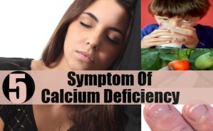 Common Symptom Of Calcium Deficiency