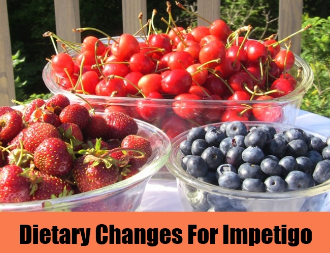 Dietary Changes For Impetigo
