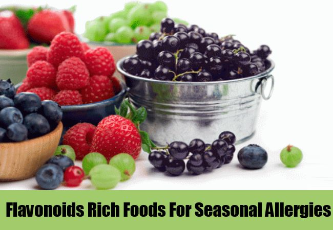 Flavonoids Rich Foods For Seasonal Allergies
