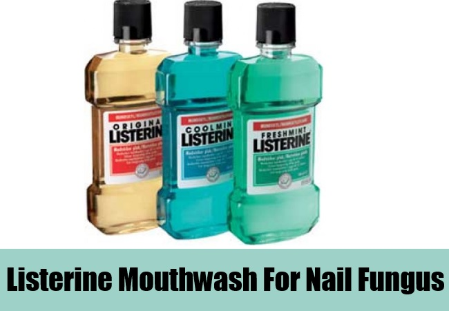 Listerine Mouthwash For Nail Fungus