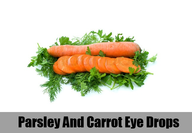Parsley And Carrot Eye Drops