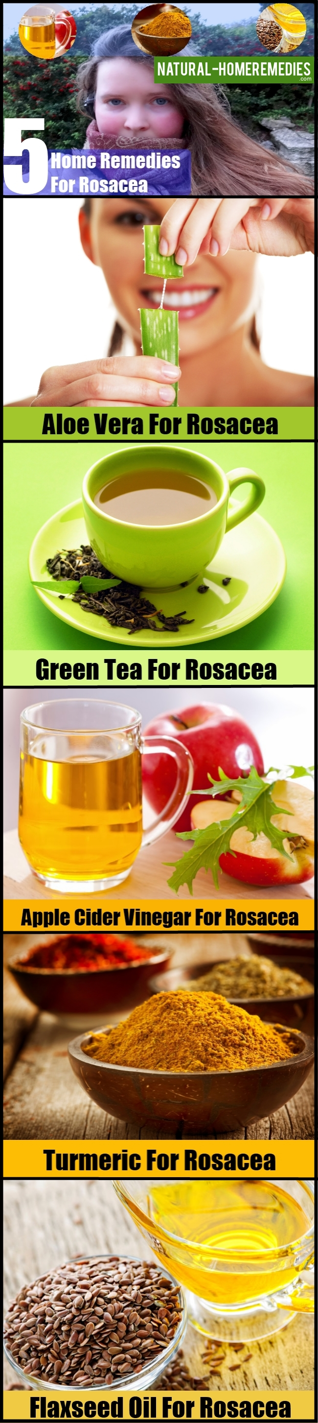 5 Powerful Home Remedies For Rosacea