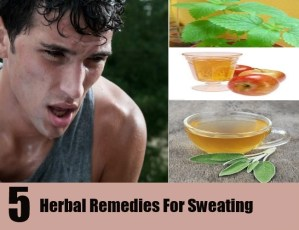 Natural Herbal Remedies for Sweating