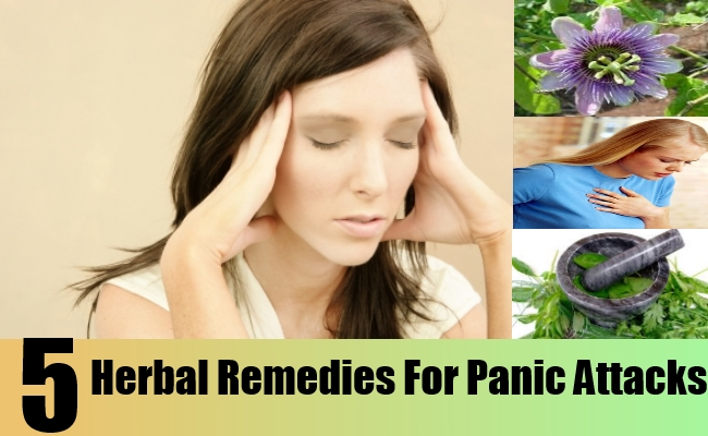 Herbal Remedies For Panic Attacks