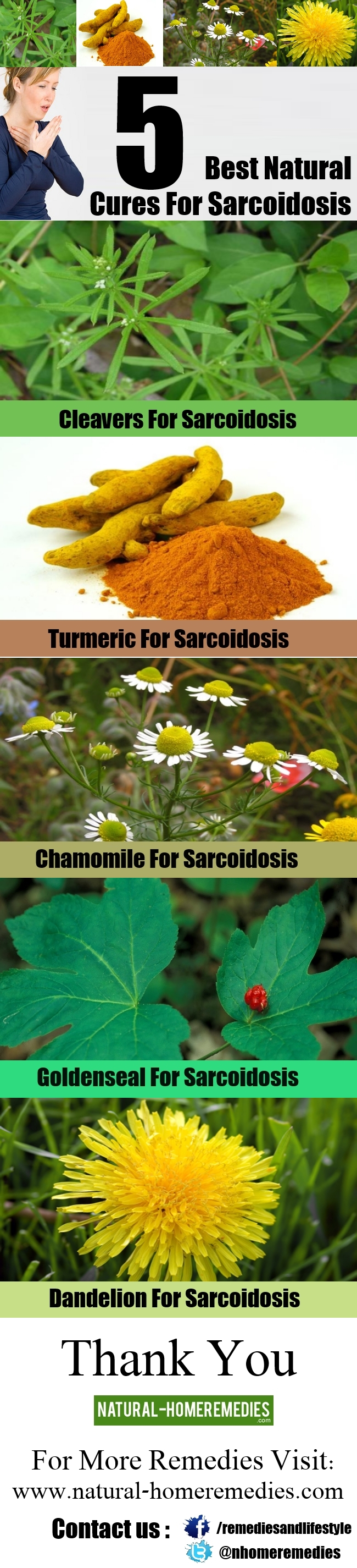 5 Best Natural Cures For Sarcoidosis