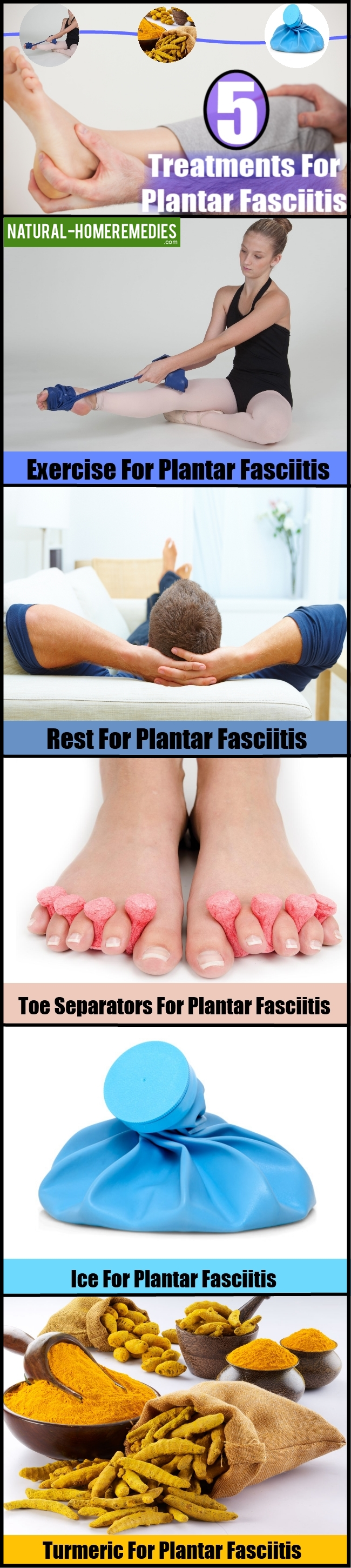 5 Treatments For Plantar Fasciitis