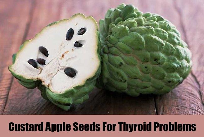 Custard Apple Seeds For Thyroid Problems
