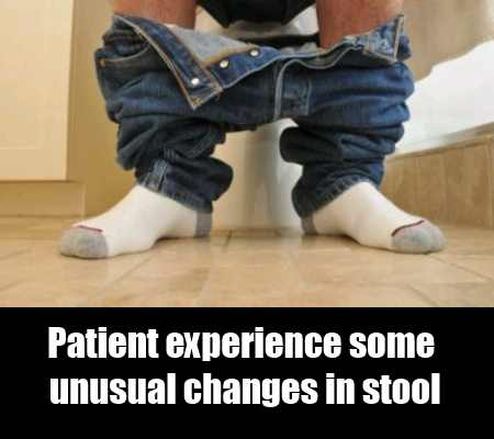 Unusual Changes in Stool
