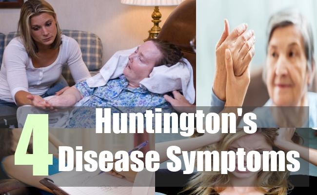 4 Huntington's Disease Symptoms