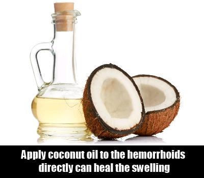 Applying Coconut Oil