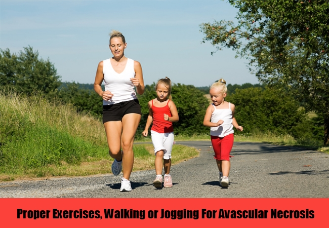 Proper Exercises, Walking or Jogging