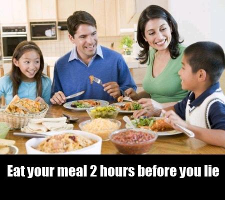 Adjustments In Meals