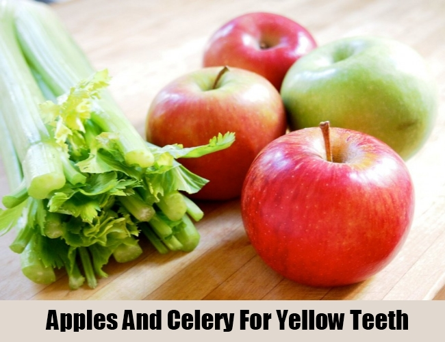Apples And Celery