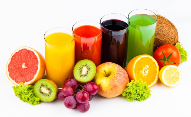 Fresh Juices Of Fruits