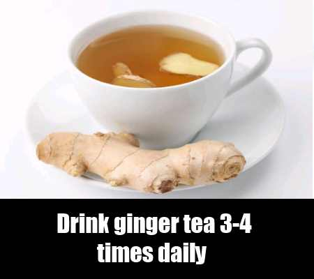 Ginger And Milk Tea