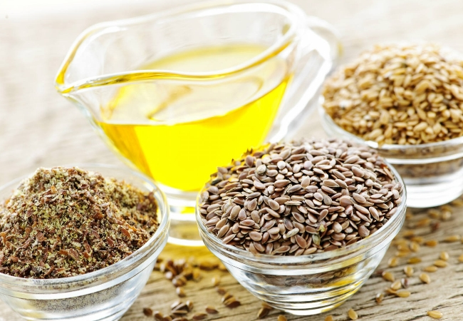 Omega 3 Rich Fish Oil And Flax Seed Oil