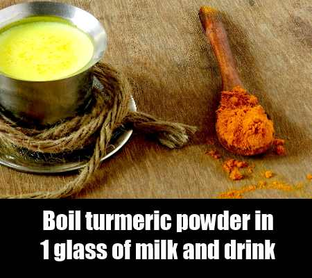 Turmeric And Milk Concoction