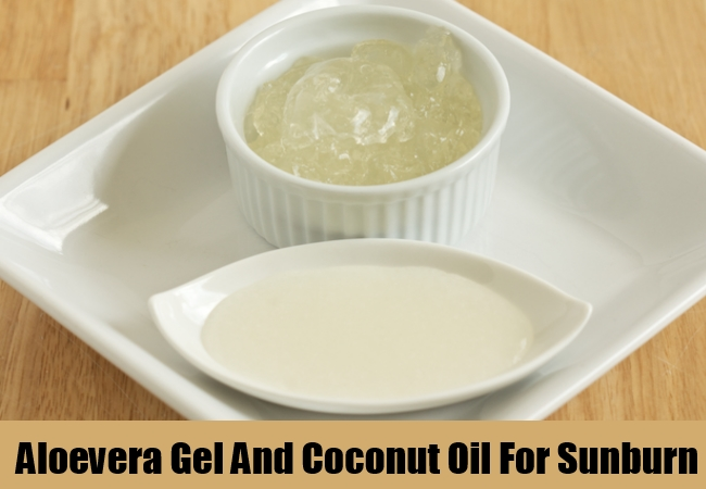 Aloevera Gel And Coconut Oil