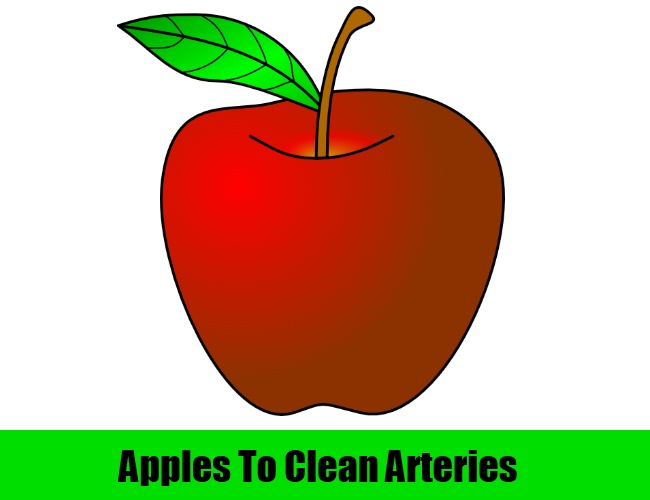 Apples To Clean Arteries