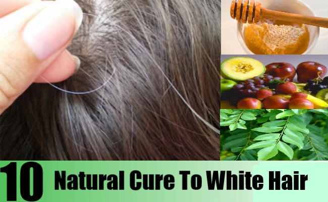 Excellent Natural Cures For White Hair