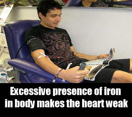 Excess Of Iron In Body