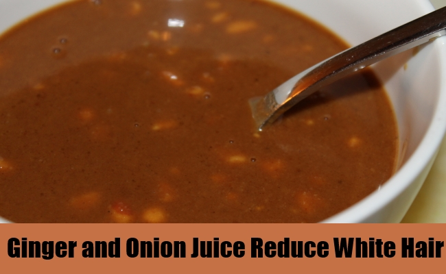Ginger and Onion Juice