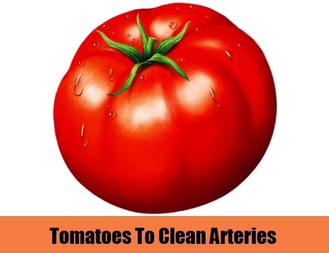 Tomatoes To Clean Arteries
