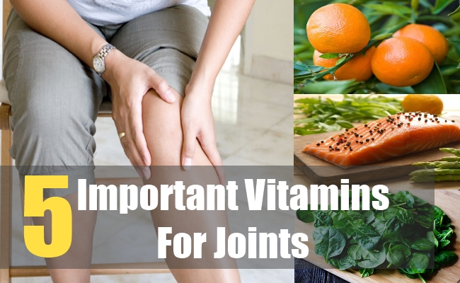 5 .Important Vitamins For Joints