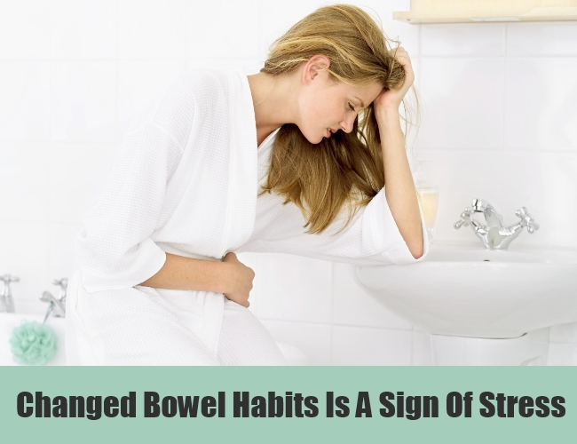 Changed Bowel Habits Is A Sign Of Stress