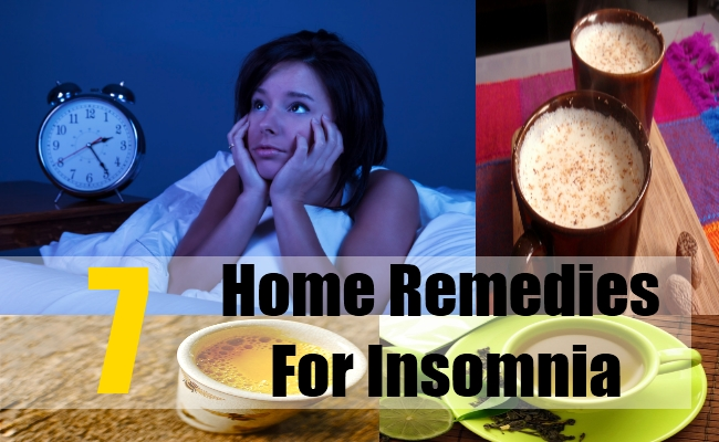 7 Home Remedies For Insomnia