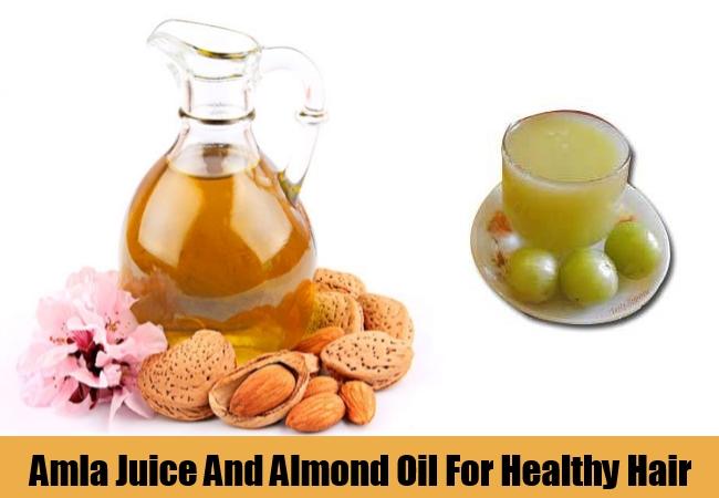 Amla Juice And Almond Oil
