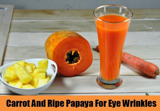 Carrot And Ripe Papaya