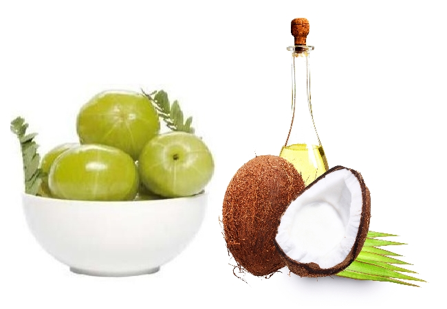 Gooseberry And Coconut Oil