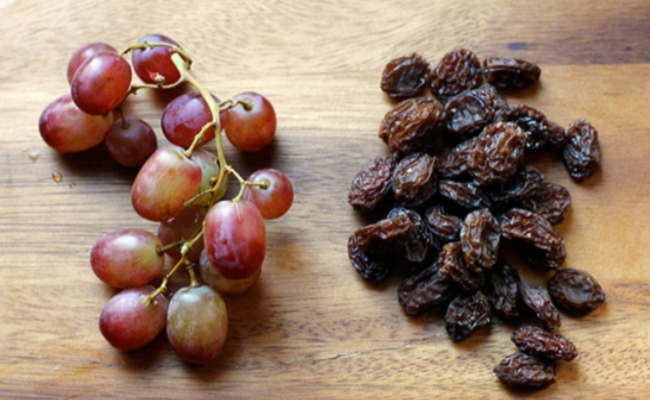 Grape Or Raisins