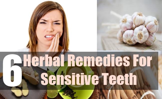 6 Herbal Remedies For Sensitive Teeth
