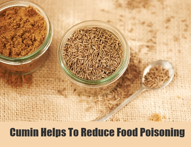 Cumin Helps To Reduce Food Poisoning