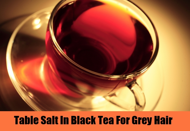 Table Salt In Black Tea