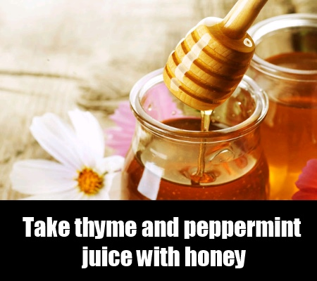 Thyme, Peppermint And Honey