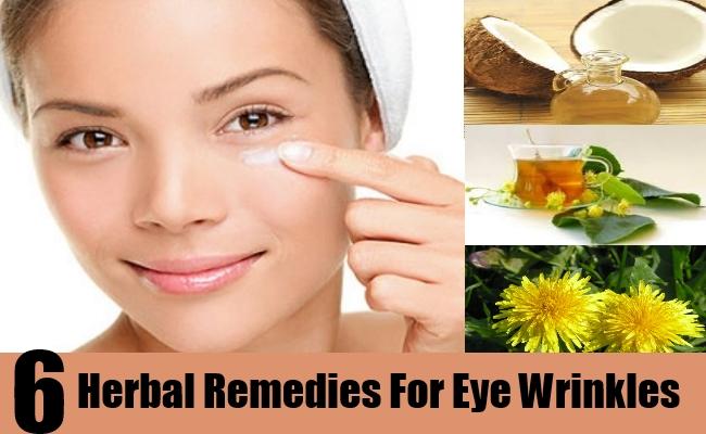 6 Herbal Remedies For Eye Wrinkles