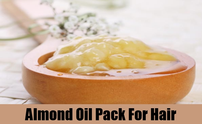 Almond Oil Pack