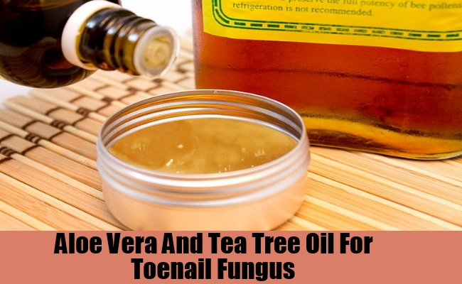 Aloe Vera And Tea Tree Oil