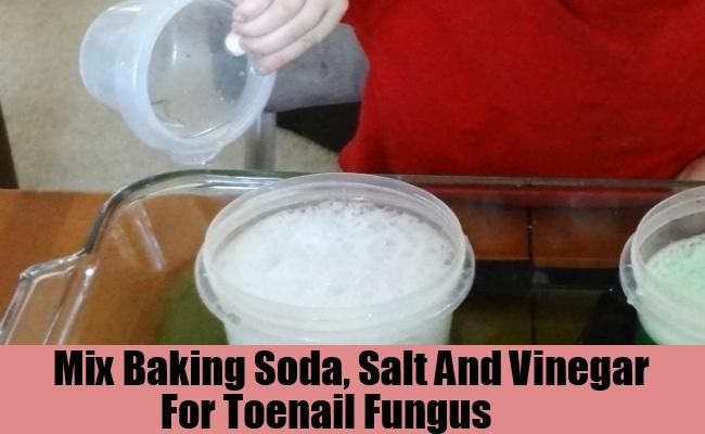 Baking Soda, Salt And Vinegar